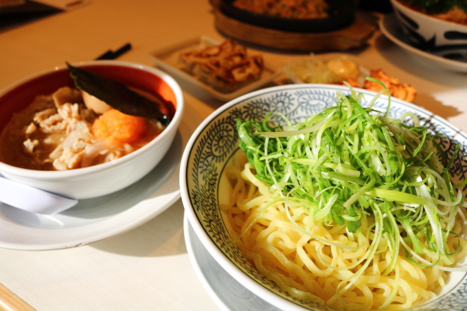 丸源ラーメン肉そばつけ麺