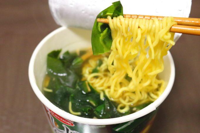 エースコック「わかめラーメン しじみだし」人気カップ麺の新商品
