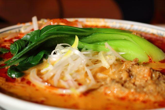 丸源ラーメンの期間限定メニュー「担々麺」実食レポート