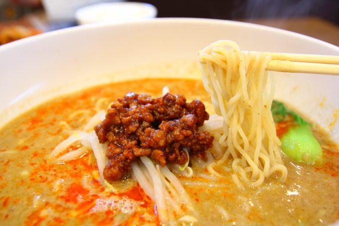 [中華料理]「チャイナ長江」の担々麺は辛いのに辛くない!
