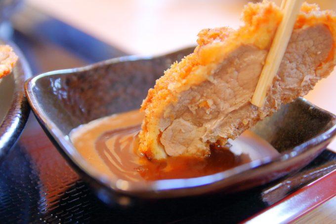 とんかつ源三!高知・朝倉のトンカツ専門店で「四万十豚」を食べる