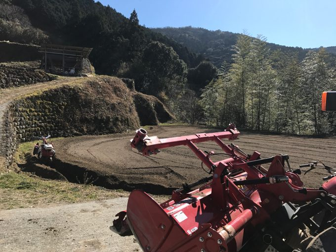 今年も生姜畑を作り始めたよ。2017年・初日