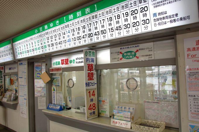 小豆島観光ブログ!高松港からフェリーに乗船。「オリーブ記念館」へ