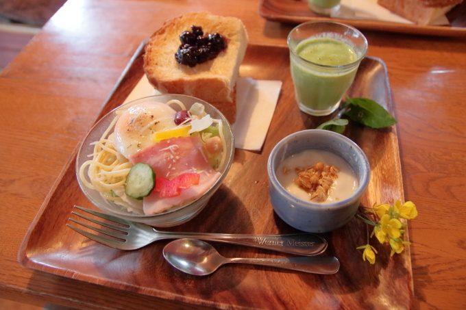 癒やしのログカフェ「コットンタイム」高知・南国市でモーニング