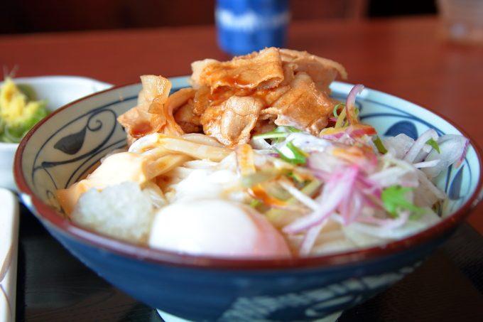 丸亀製麺「こく旨豚しゃぶぶっかけ」新・期間限定メニューを食べる