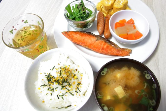 ほとんど野菜の「和食ダイエット」3日目!
