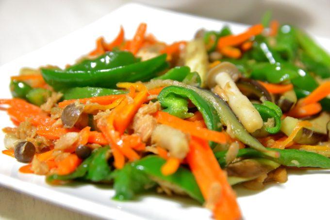 和食ダイエット「無限野菜炒め」を食べた結果!