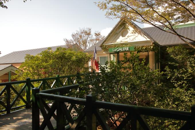 モネの庭のギャラリー入口