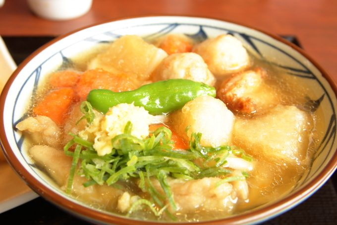 丸亀製麺ごろごろ野菜の揚げだしうどん