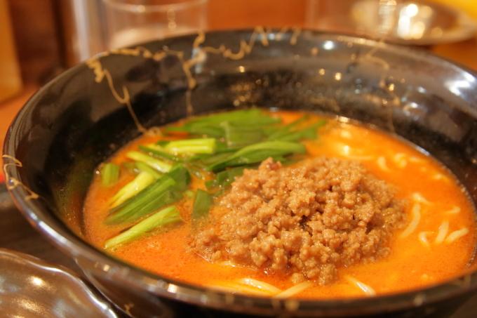中華そば楽「担々麺」