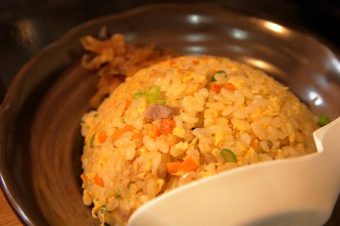 中華そば楽「高菜炒飯」