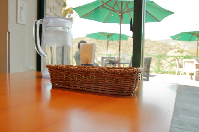 カフェ モネの家の店内