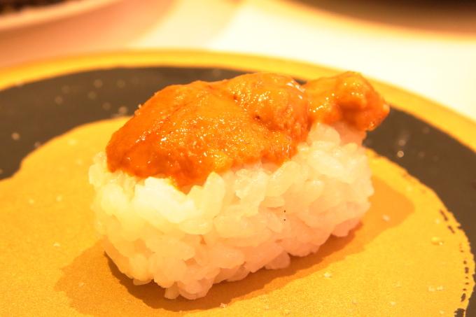 はま寿司・2017年10月5日からの期間限定フェアメニュー・うにのにぎり