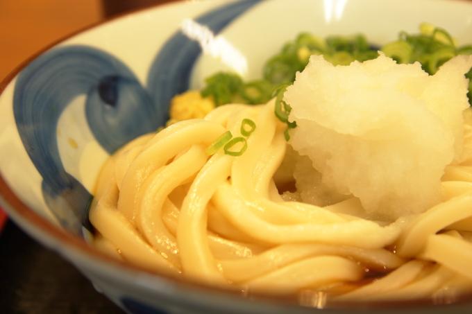 セルフうどんの店・竹清(ちくせい・倉敷市)ぶっかけうどんの麺