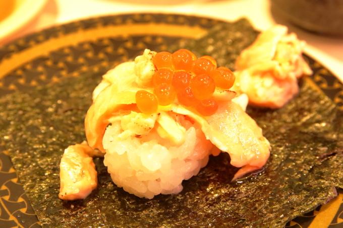 はま寿司・2017年10月5日からの期間限定フェアメニュー・炙りサーモンいくら