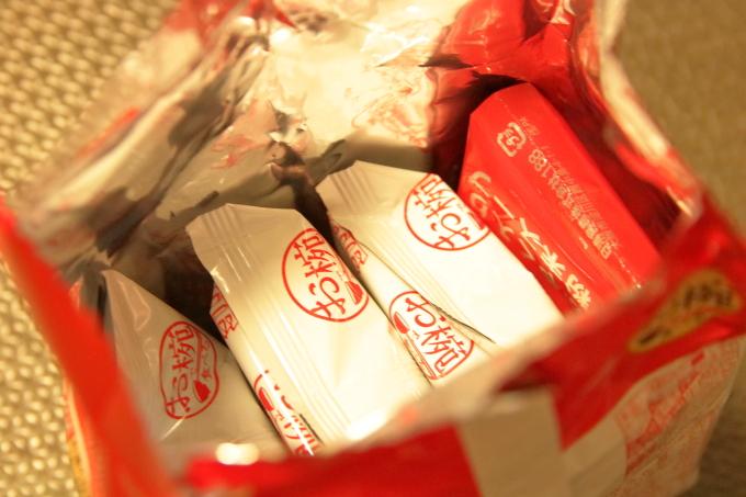 日清「お椀で食べるカップヌードル」を開封した画像