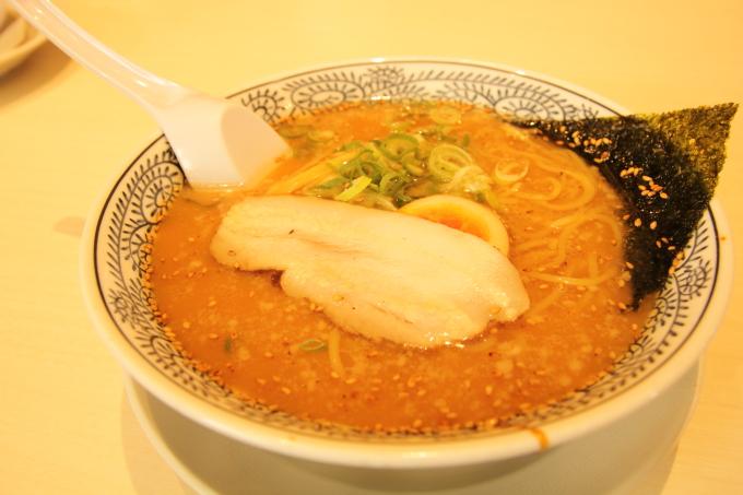 丸源ラーメン 豚骨醤油ラーメン