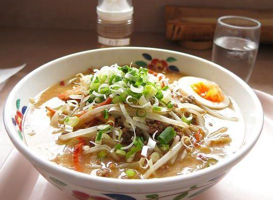 美味しんぼ山岡「和風担々麺」