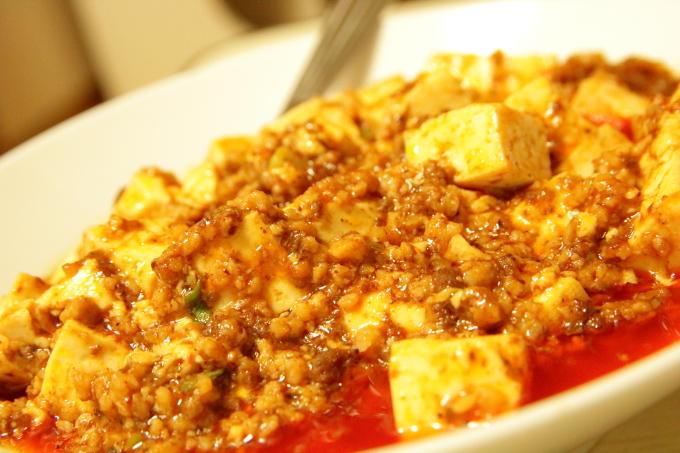 丸美屋の麻婆豆腐のできあがり