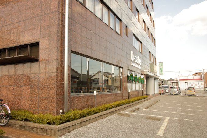 香美市・土佐山田駅前カフェ・D-cafe(ディーカフェ)の外観