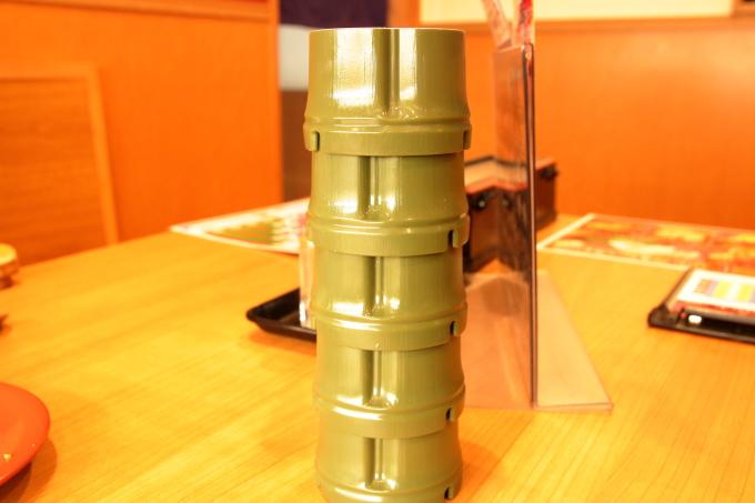 くら寿司、竹姫寿司の器