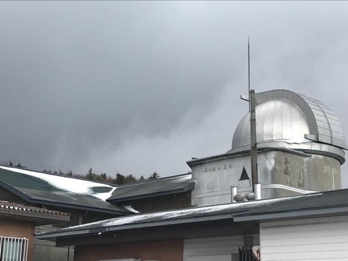 高知・大豊町の梶ヶ森の天文台