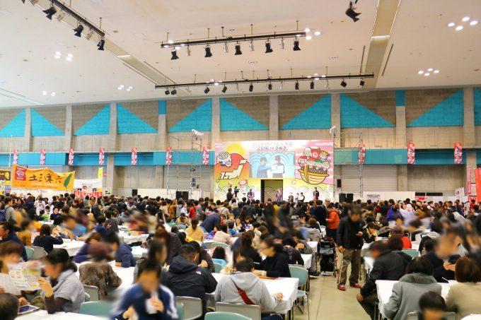 全国年明けうどん大会inさぬき・2016年の会場の風景