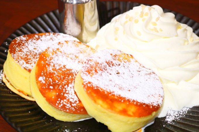 モーテ桂浜・テラスコーヒー01「TERRACEパンケーキ」