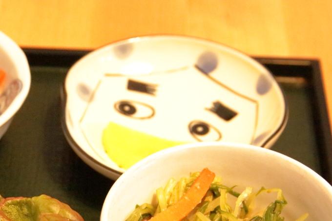 マンテンノホシ野市店 農家の田舎ごはん定食の皿
