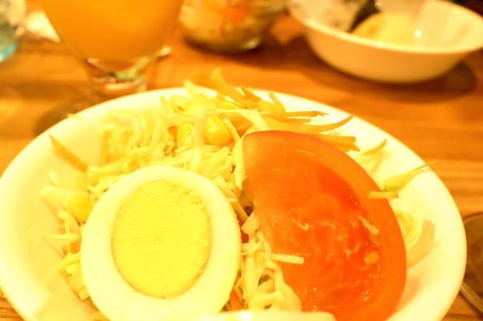 デポー京町店のランチ(サラダ)