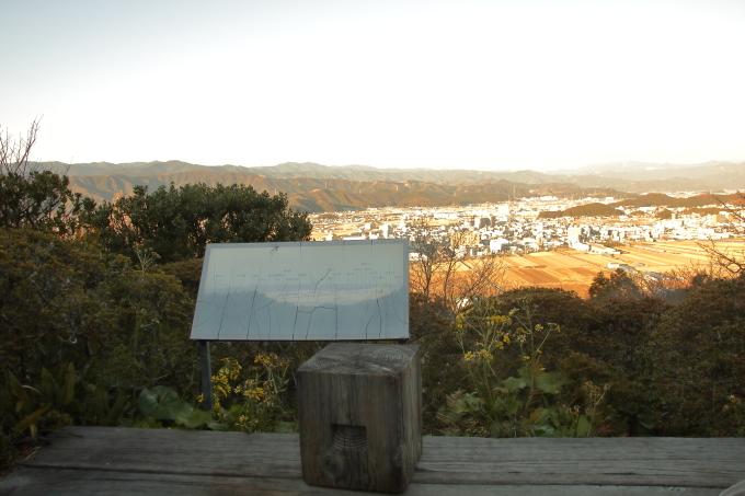 牧野植物園からの眺望