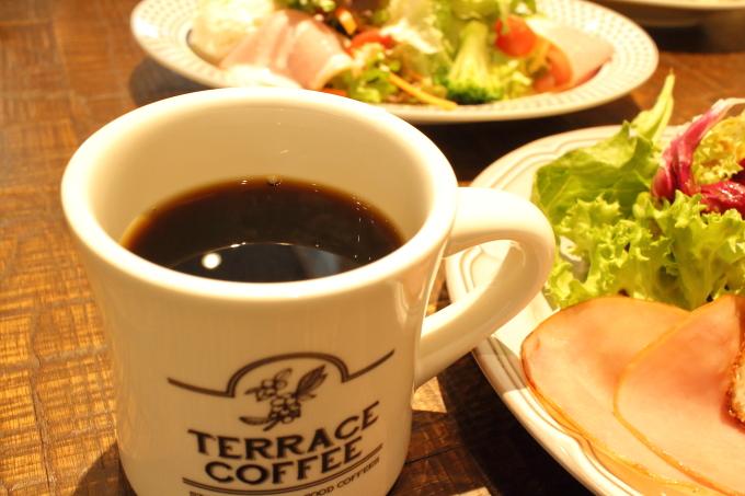 テラスコーヒー05のコーヒー