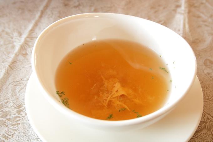 レストラン四季の日替わりランチ スープ