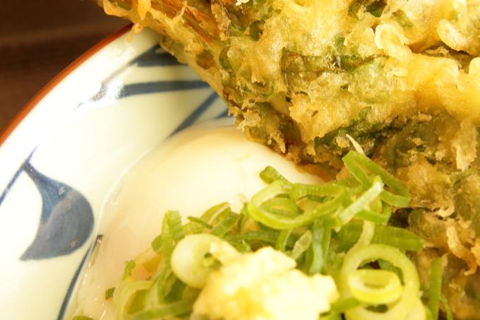 丸亀製麺 とろ玉うどん