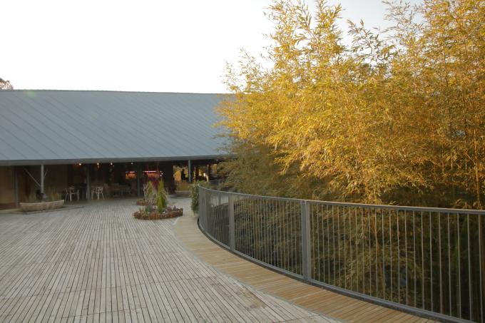 牧野植物園のレストラン 外観