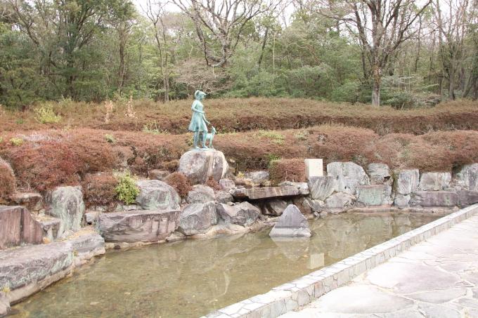 小豆島 銚子渓 お猿の国 愛の泉