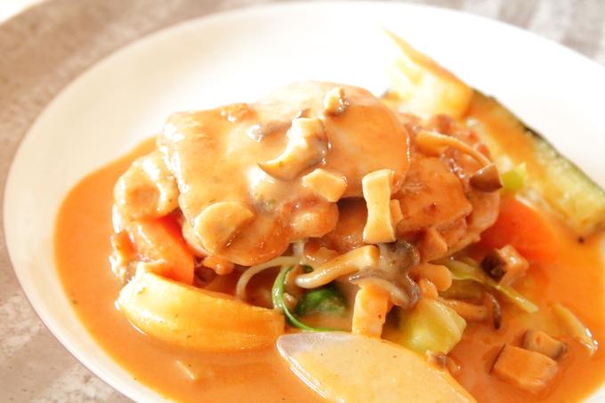 レストラン四季の日替わりランチ 鶏肉のソテー