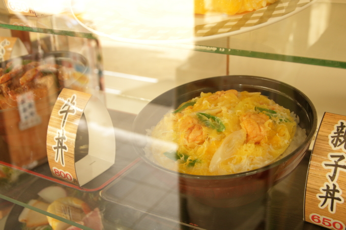 桂浜のレストラン「まつむら」食品サンプル