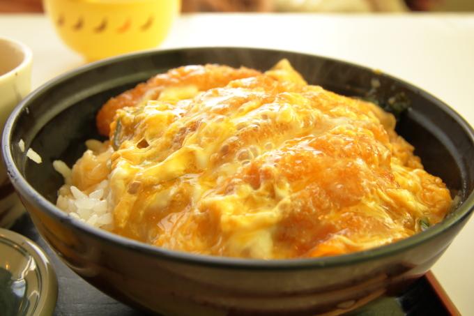 桂浜のレストラン「まつむら」ランチ(カツ丼)