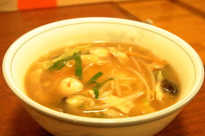 中華料理 鳳龍菜館「ちゃんぽん」