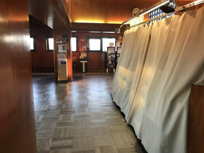 名古屋城最上階の売店