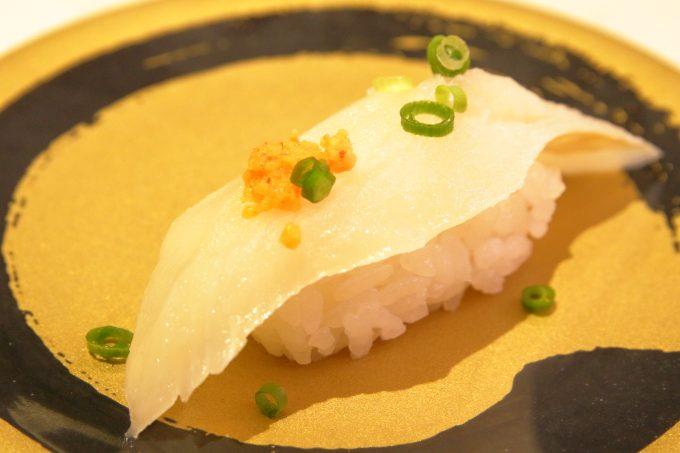 はま寿司の天然寒ビラメ