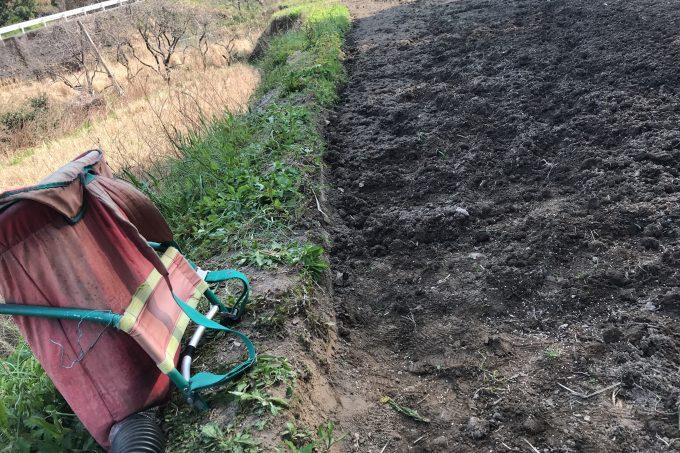 肥料をまく道具