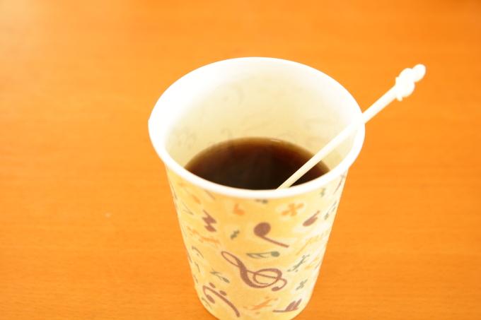 安芸しらす食堂のコーヒー