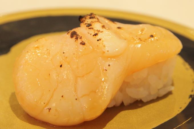 はま寿司のメガほたて