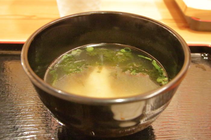 海鮮食堂マルトモ今治イオン味噌汁