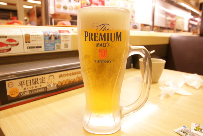 スシロー生ビール