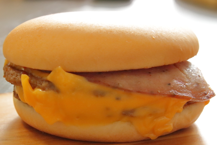 マクドナルド裏ダブルチーズバーガー