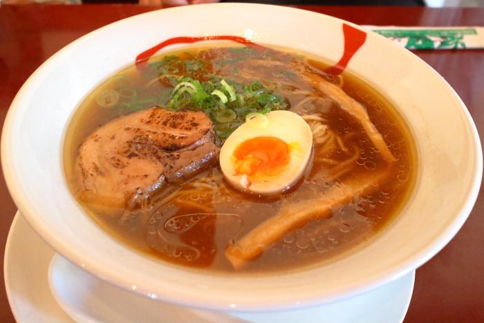 麺屋覡高知土佐市醤油ラーメン