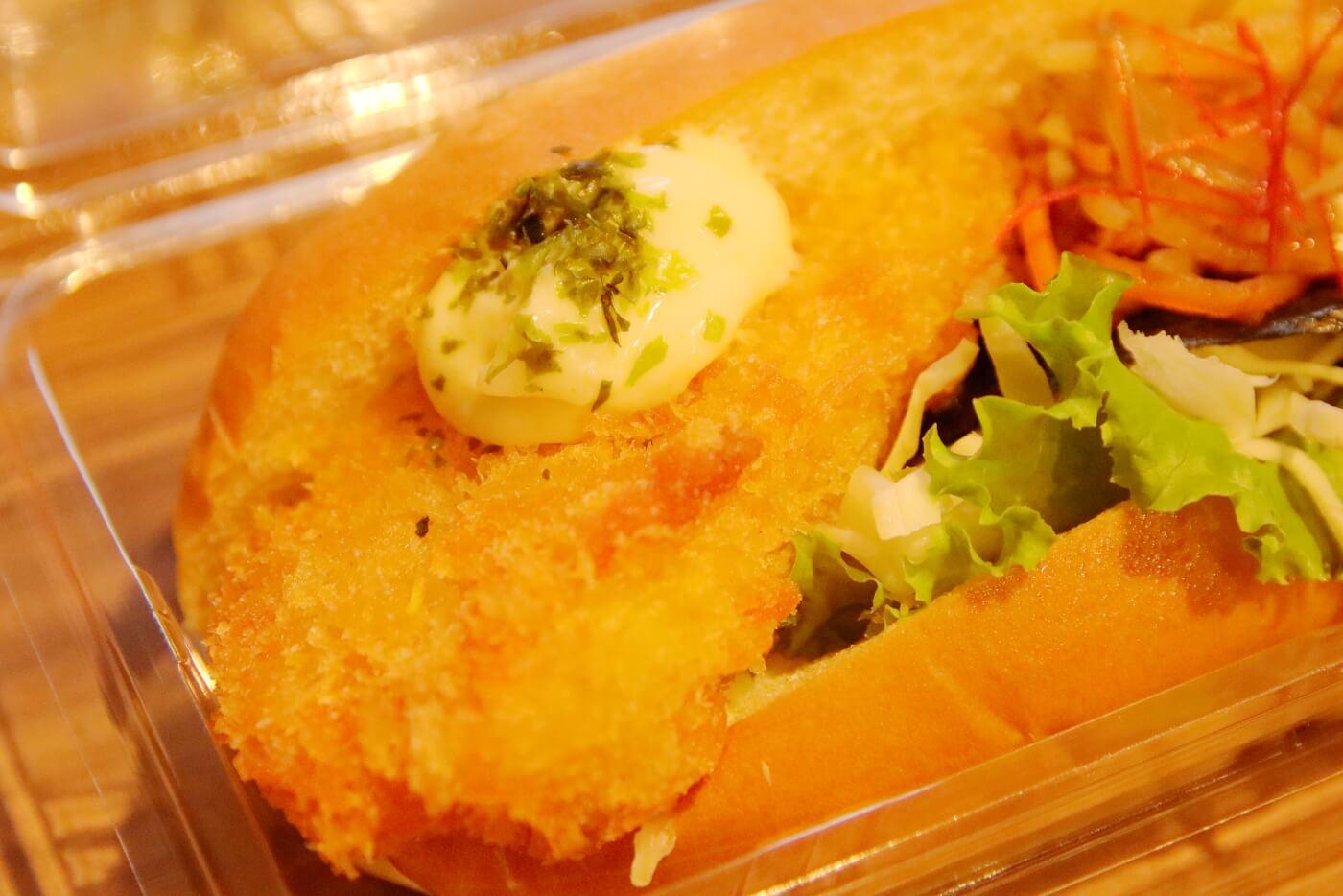 高知市 帯屋コッペのコッペパン のり弁ランチ
